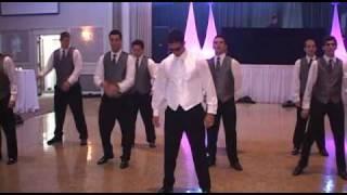 Vince & Flavia Del Monte's Wedding: The Dance Off - Epic!
