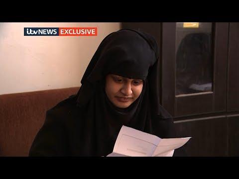 Shamima Begum is shown letter revoking British citizenship