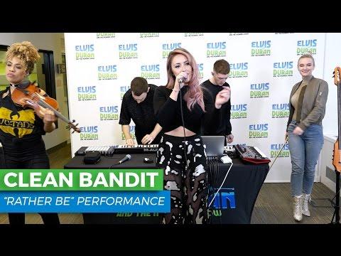 "Clean Bandit - ""Rather Be"" Live | Elvis Duran Live"
