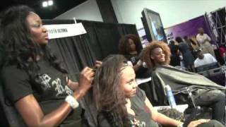 Ultima Organic Protein Hair - The Natural Hair Show Atlanta - April 2010