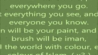 Dawud Wharnsby - Colours Of Islam Lyrics