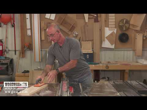 Cutting Rabbets on a Table Saw