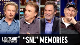"Trading Old ""SNL"" Stories (feat. Norm Macdonald & Kevin Nealon) - Lights Out with David Spade"