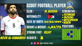 NOOR AL RAWABDEH - نور الروابده 🔵 MIDFIELDER 🔵 AL JAZEERA 🔵 BEST OF 2020 HD