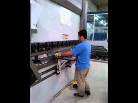 My work as press brake operator..