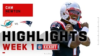 Cam Newton Patriots Debut | NFL 2020 Highlights