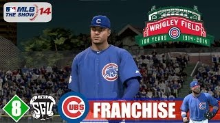 MLB 14: The Show (PS4) Chicago Cubs Franchise - EP8 (vs Diamondbacks)