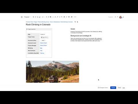 Confluence Cloud Tutorial 1: Create and Share Pages 2018