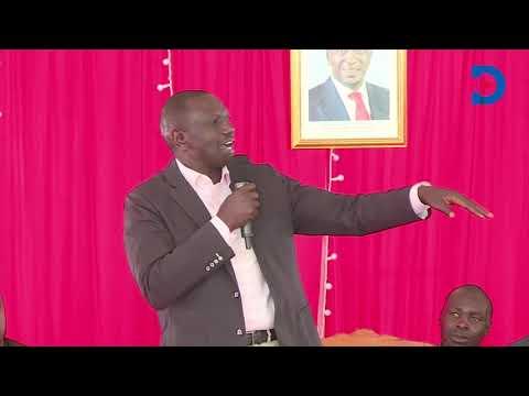 'Anajua rieng' ya watu.... ama namna gani?' Ruto campaign for Mariga in Kibra