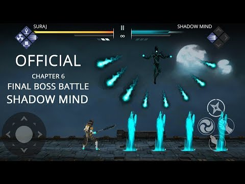 Shadow Fight 3 Official Chapter 6 Final Boss Battle SHADOW MIND