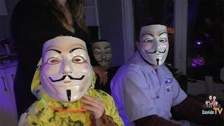 Project Zorgo Hackers Trick or Treat at Our Halloween Haunt DavidsTV