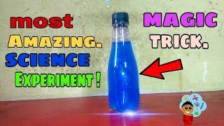 Amazing science experiments on magical water😱😨😨. science magic tricks.