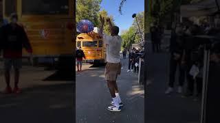 "See a hoop... gotta shoot! KD on ""NBA Lane"""