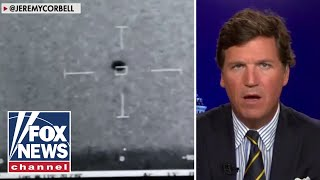 Tucker reacts to footage of 'spherical' UFO captured by Navy