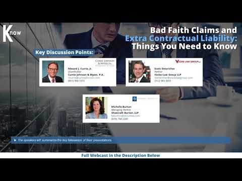 bad-faith-claims-and-extra-contractual-liability-cle