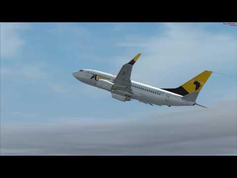 vol Lomé à Libreville Boeing 737 700 Asky vol commenté