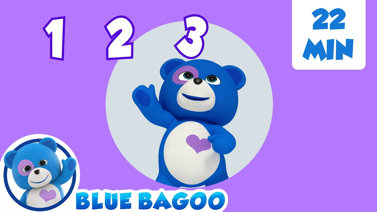 Counting to 10 + More | Blue Bagoo - English Nursery Rhymes and Kids Songs