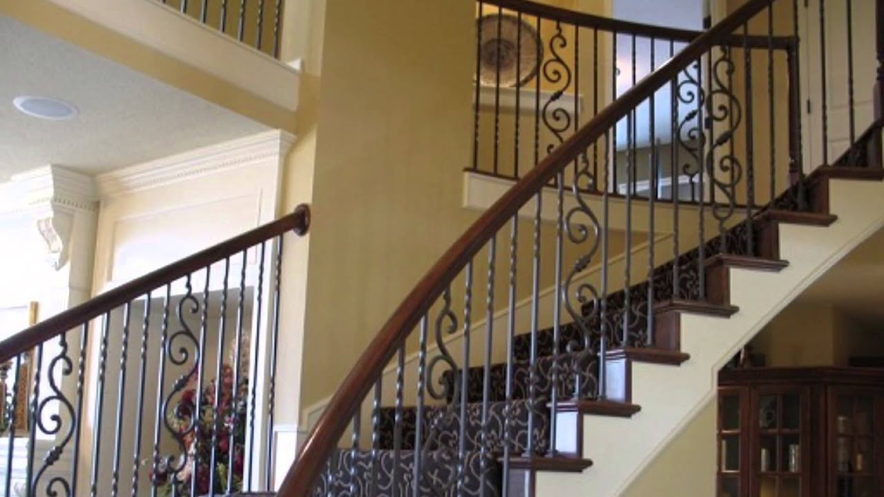 Lowest Price And Top Quality Wrought Iron Stair Handrails Los Angeles, San  Fernando Valley.