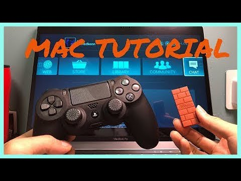 Play on Mac with PS4 Controller - How To Connect PS4 to Mac