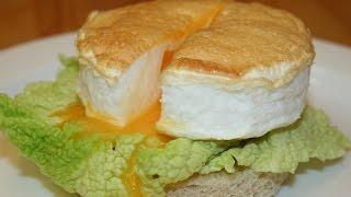 Воздушная яичница рецепт. Как приготовить вкусные яйца(Доброго времени суток, дорогие друзья! В сегодняшнем видео предлагаю вам попробовать приготовить необыкно..., 2014-10-29T12:22:16.000Z)
