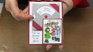 #265 EASY Art Gone Wild Interactive Reveal Wheel Dies & Stamps by Scrapbooking Made Simple thumbnail
