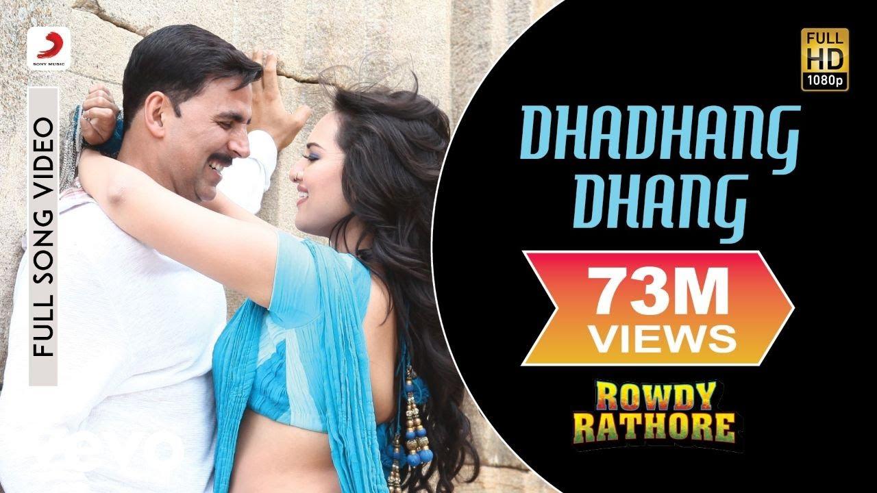 Download Dhadhang Dhang Full Video - Rowdy Rathore Akshay, Sonakshi Shreya Ghoshal Sajid Wajid