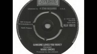 "Marie Owens ""Someone Loves You Honey"""