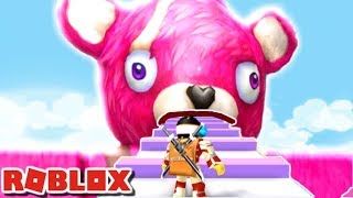 ESCAPE FORTNITE OBBY!!   The weird Side of Roblox: Fortnite Obby
