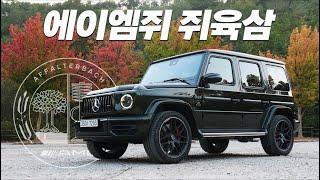 """SUV들의 왕"" 메르세데스-AMG G63 시승기...우리가 G바겐을 사랑하는 이유"