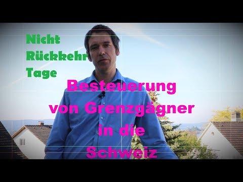 Berechnung Nichtrückkehrtage      (DBA Schweiz)