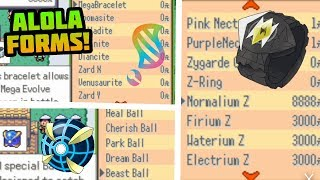COMPLETED POKEMON GBA ROM HACK WITH Z MOVES, ULTRA BEASTS, GEN 7, MEGA EVOLUTION, ALOLA FORMS!