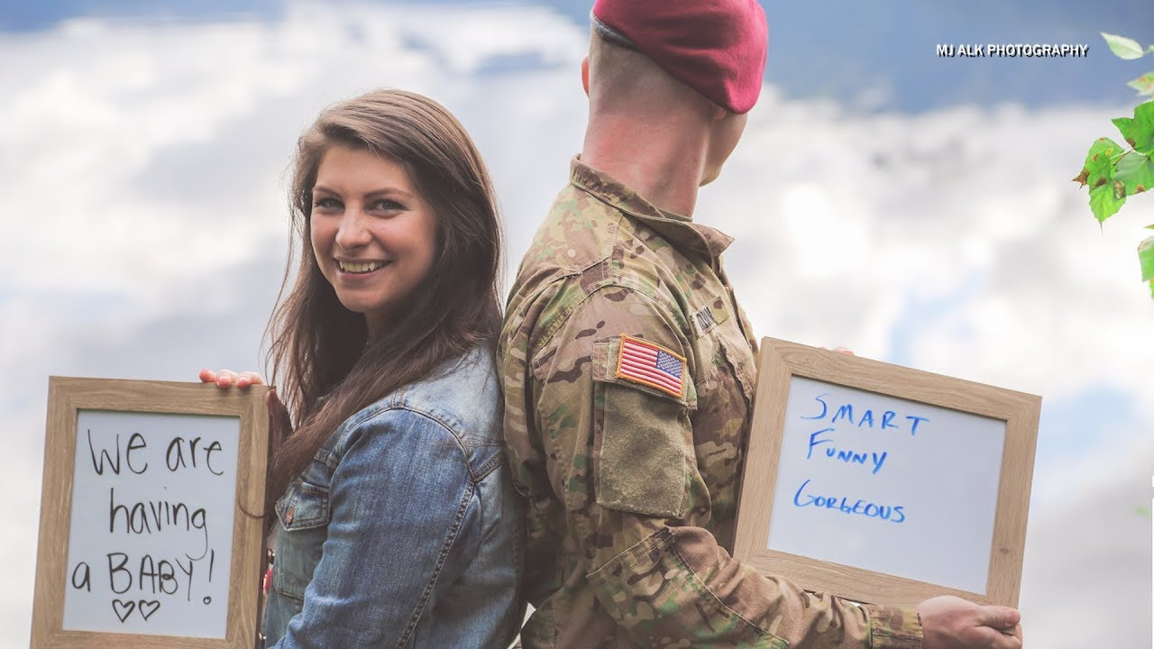 After Suffering Miscarriage Wife Surprises Military Husband With Pregnancy