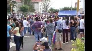 NTN24 VENEZUELA: La Gran Cruzada Andina llegó a San Cristóbal