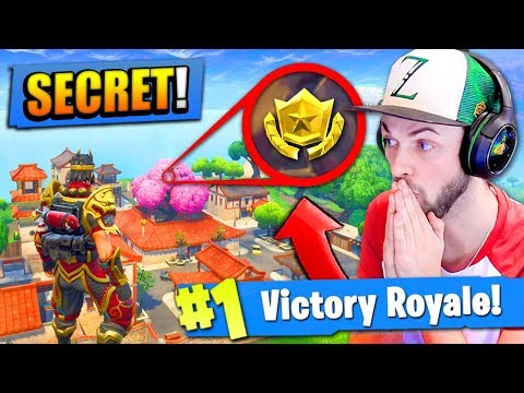 *NEW* SECRET LOOT LOCATION in Fortnite: Battle Royale!