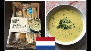 Hollanda Mutfağı: Körili Kuşkonmaz Çorbası (Aspergesoep)