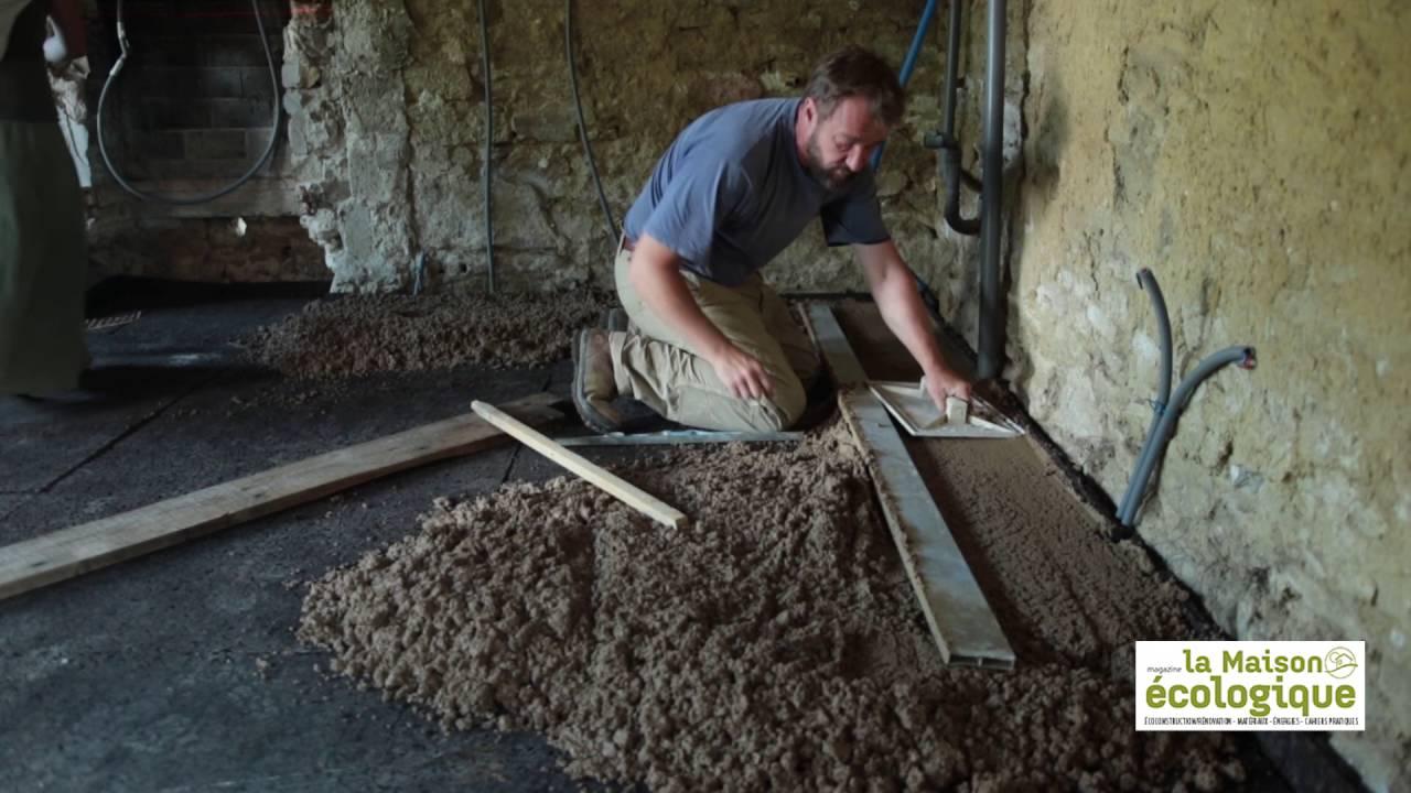 un sol en terre crue pour garder les pieds sur terre youtube. Black Bedroom Furniture Sets. Home Design Ideas