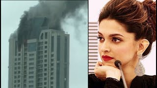 VIDEO Deepika Padukone Building On FIRE