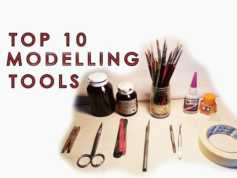 What tools will I need to start making models? - Scale model basics