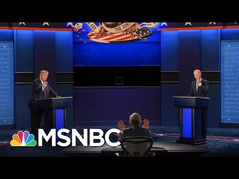 Muted Mics To Cut Interruptions At Final Biden-Trump Debate | The 11th Hour | MSNBC