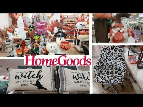 HOMEGOODS SHOPPING* FALL & HALLOWEEN DECOR / AUGUST 2019