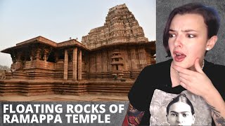 Floating Rocks Of Ramappa Temple - Ancient Technology in India | REACTION! | Indi Rossi