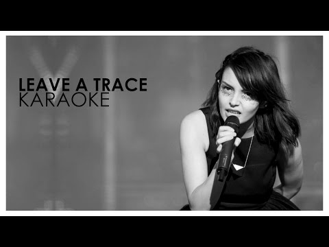 CHVRCHES Leave a Trace - Karaoke