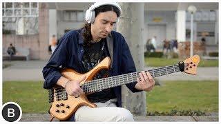 alex lofoco slap bass on flatwound strings   basstheworld com