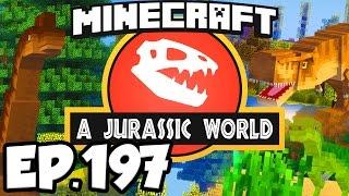Jurassic World: Minecraft Modded Survival Ep.197 - MYTHBUSTING PURPLE PTERANODON!!! (Dinosaurs Mods)