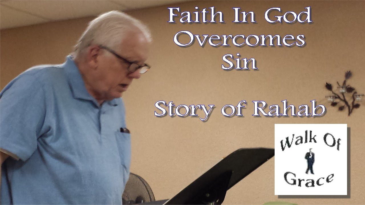 The story of Rahab tells us that faith in God overcomes all sin (Sermon  Clip)