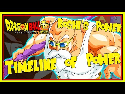 Master Roshi's New Power Explained. How Strong is Roshi in DBS? Dragon Ball Super Timeline of Power.