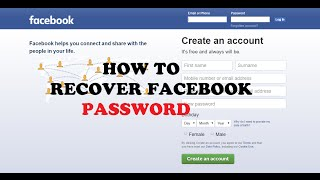 How to Recover Forgotten Facebook Password Without Email  Working