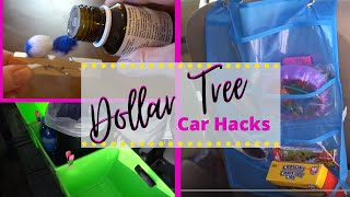 13 AMAZING Dollar Tree Hacks for your Car!!