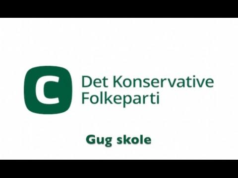 "Konservative folkeparti - ""Valgvideo"" (skoleprojekt)"