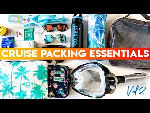 Cruise Packing Essentials Vol 2   New Year, New Gear!